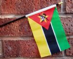 HAND WAVING FLAG (SMALL) - Mozambique